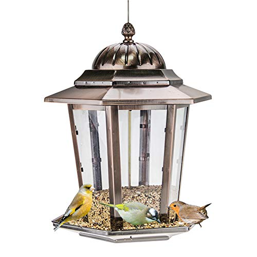 (Sungmor Electroplating Copper Bird Feeder | 14