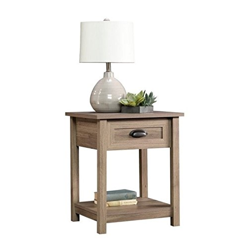 Pemberly Row End Table in Salt Oak by Pemberly Row