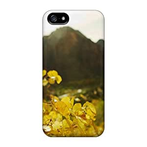Series Skin Case Cover For Iphone 5/5s(nature Other In Focus Yellow Leaves)