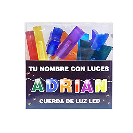 TU NOMBRE CON LUCES - Cadena de luz LED con nombres y símbolos ¡TU ...