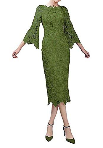 Bainjinbai Kurz Applikation Cocktail BrautjungfernKleider Abendkleider Green Kleider Party Spitze UUCwaqSr