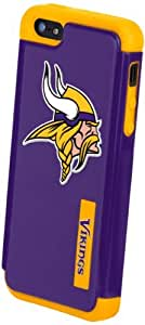 Forever Collectibles Minnesota Vikings Rugged Dual Hybrid Apple iPhone 5 & 5S Case