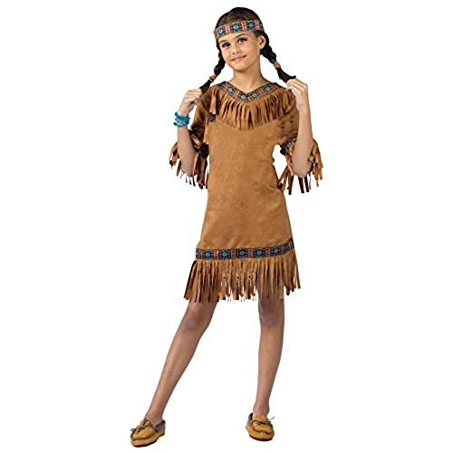 Fun World Child Native American Girl Costume  sc 1 st  Amazon.com & Pocahontas Costume for Girls: Amazon.com