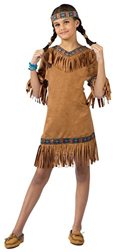 [Child Native American Girl Costume] (Indian Costumes Halloween)