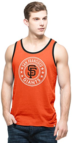 MLB San Francisco Giants Men's All Pro Tank Top, Orbit Orange, - Mens Shorts San Francisco Giants