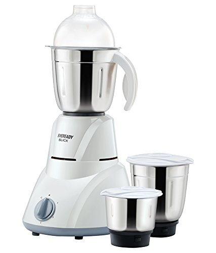 Eveready Mixer Grinder SLICK (3 Jar) 500W Mixer Grinders at amazon