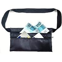 Doleira Pochete Porta Dinheiro Cartão Passaporte Celular Discreta Fina