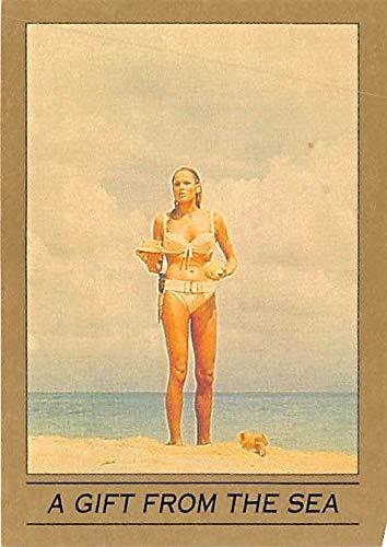 Ursula Andress trading card James Bond 007 1993 Eclipse #10 Dr No Honey Ryder