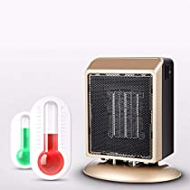 110V 500W Portable Space Patio Heater Adjustable Warmer Fan Air Conditioner Home