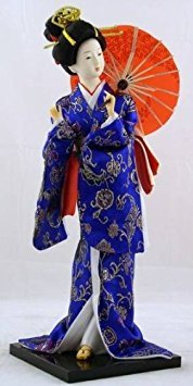 """16"""" Japanese GEISHA Oriental Doll DOL6008-16"" MZO"