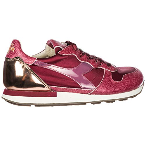 HERITAGE DIADORA Leather Shoes Camaro Fucsia h Sneakers Women's Trainers 6nwZUqBz