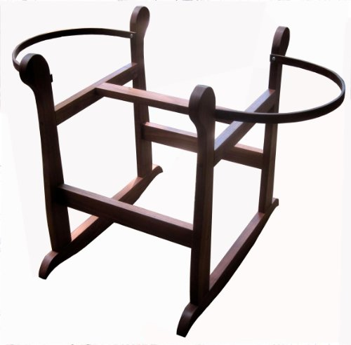 Regal Rocker Rocking Stand - Espresso - for Moses Baskets by Rockers by Richard