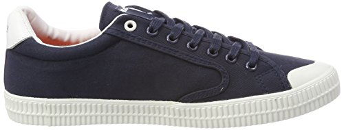 Replay Moskow navy Homme Basses Sneakers Bleu rrpxPHqR