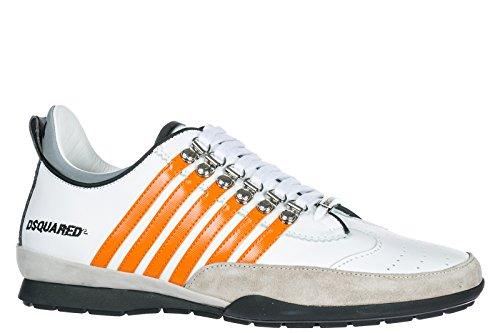 Dsquared2 Herresko Herre Lædersko Sneakers 251 Hvid FynkHCxIT