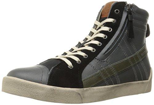 Diesel Mens D-velows D-string Plus Fashion Sneaker Castlerock / Nero / Oliva Notte