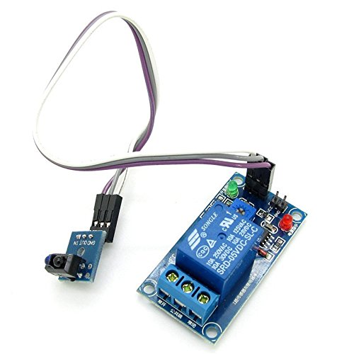 DC5V Photoelectric Switch Sensor Infrared Reflection Relay Module A07 TCRT5000 Photoelectric Sensor Switch