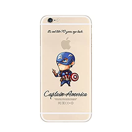 coques iphone 6 marvel