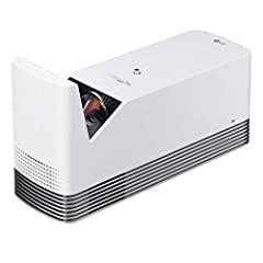 This full HD projector is Ultra short throw so it can be placed closer to the wall or screen and still deliver a big, clear image with an impressively bright 1500 ANSI lumens. Packed with features, this webOS Smart TV model offers HDMI, USB a...