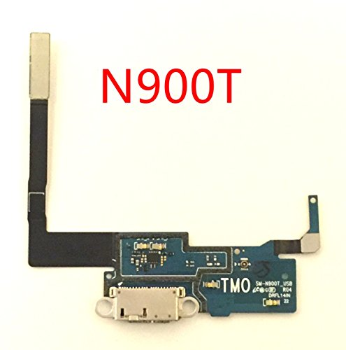 (by Walking Slow- Replacement USB Charging Charger Port Micphone Flex Cable Dock Connector Ribbon for Samsung Galaxy Note 3 -PLS Choose Correct Version- (N900T T-Mobile))