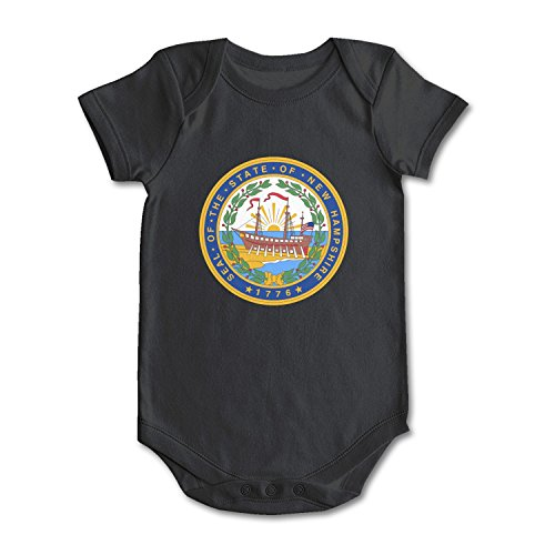 SHUOCDAH Seal of The State of New Hampshire Baby Boys Girls Fashion Baby ()