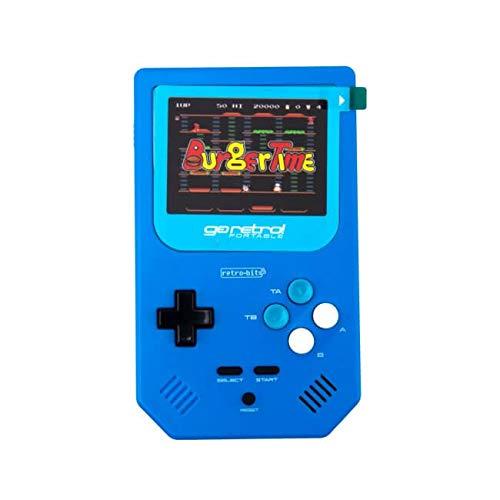 Go Retro Portable NES SNES SFC SEGA 250 games Build In Handhold System - Blue (Gameboy Advance Sonic Games)