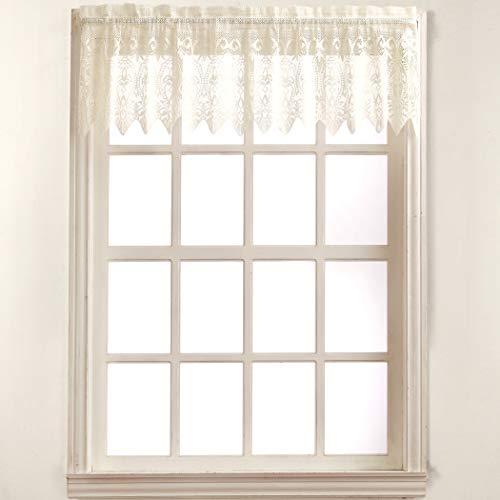 No. 918 Joy Classic Lace Kitchen Curtain Valance, 60