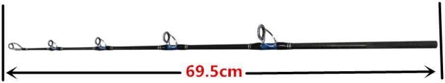 VGJLPOD 3 Sections 30-50lb Lourd Jigging Rod Deep Sea Spinning Canne /À P/êche en Eau Sal/ée Voyager Canne /À P/êche Canne /À P/êche