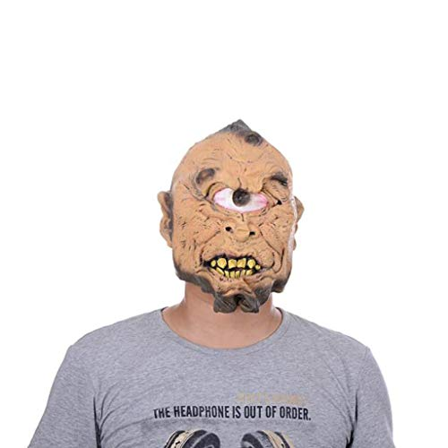 Scary Mask Tesco - KODH Monocular Horror Mask Whole Person