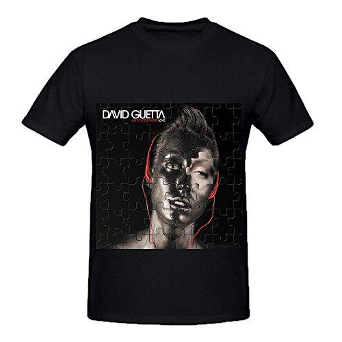 David Guetta Just A Little More Love Men Crew Neck Graphic Shirts (Heineken 007)