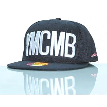 YMCMB-Gorra con visera plana negro talla única: Amazon.es: Ropa y ...