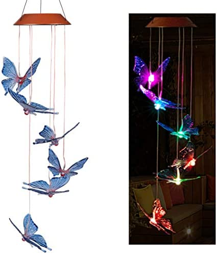 CXFF Solar Butterfly Chimes Outdoor product image