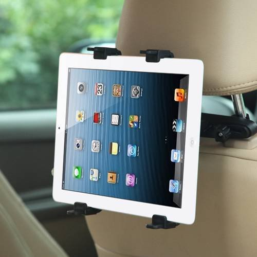Price comparison product image Universal Car Head Cushion Headrest Tablet Mounts for LG G Pad X 8.0, Lenovo PHAB2 Pro, Asus ZenFone 3 Ultra, Acer Iconia One 8, Xiaomi Mi Pad 2 + MYNETDEALS Stylus