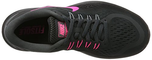 Pink Indoor Multicolore Donna Sportive Nike Grey Running Free Sense Women's RN Shoe Scarpe Anthracite cool Blast black ww7qp4