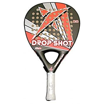 DROP SHOT Armada SF - Pala de pádel, Color Gris/Naranja / Blanco/Negro, 38 mm: Amazon.es: Deportes y aire libre