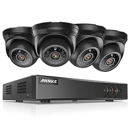 ANNKE 8CH HD-TVI Security Camera System 1080P Lite DVR Recor
