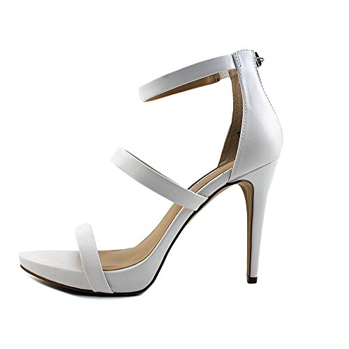INC International Concepts Sadiee Cuir Sandales Bright White Y6ZLzC85o6