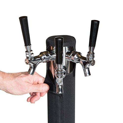 Kegerator Tower Cooler Insulator for Beer Tap Towers by Redwood Brew Supply - Beer Tower Not Included (3.0