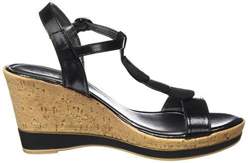 Tamaris T 012 Black bar Women''s black 28363 Metallic Sandals 77nPq4wOxf