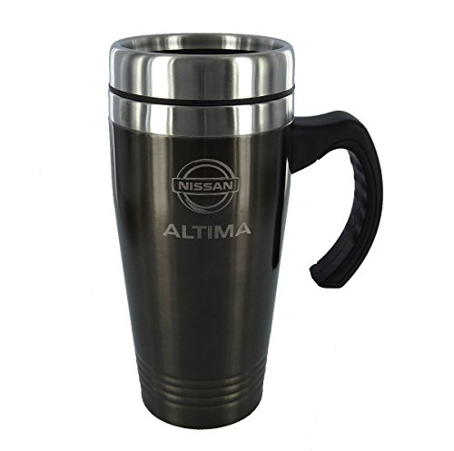 Nissan Altima Black Travel Mug (Thermos Tumbler Travel Nissan)