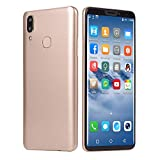 Maonet Fashion 6.1 inch Dual HDCamera Smartphone Android IPS Full Screen GSM/WCDMA 16GB Touch Screen WiFi Bluetooth GPS 3G Call Mobile Phone (Gold)