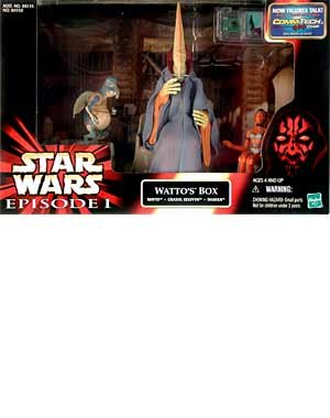 (Star Wars: Episode 1 Cinema Scenes > Wattos Box Action Figure Multi-Pack)