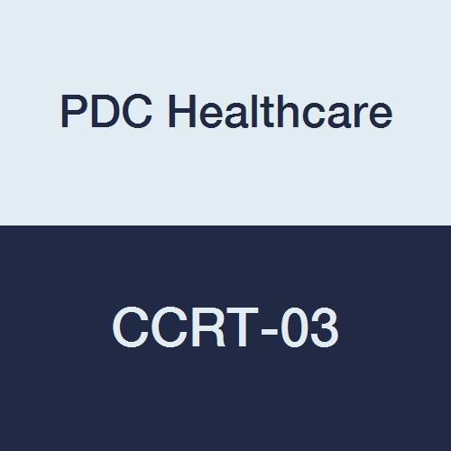 PDC Healthcare CCRT-03 X-Ray Portfolio, Open-Top, Junior Size Velcro Closure, 12'' x 16'' x 6'', Black