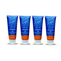 (Pack of 4) new Ivory Sun SPF 30 Sun Protection with Light Skin Support Elements