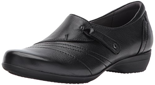 Dansko Women's franny Flat,Black Milled Nappa,38 EU/7.5-8 M US by Dansko