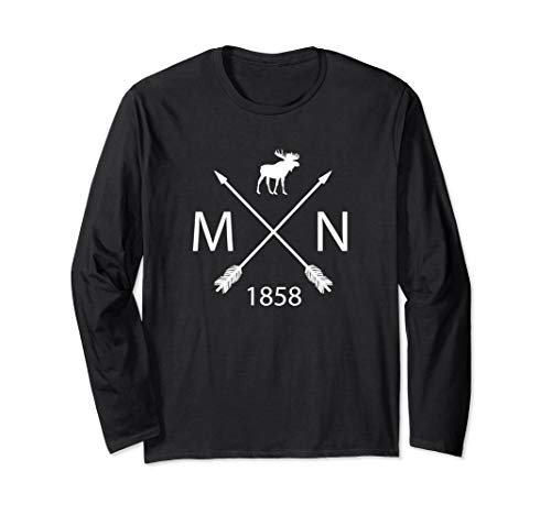 Minnesota Moose and Arrows T-Shirt, Established 1858