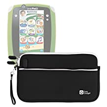 DURAGADGET Black Durable Water Resistant Carry Case For New Kids Tablet Leapfrog LeapPad 2 Explorer, Leappad Explorer (1), Leapster 2, Leapster GS & LeapPad Ultra (3)