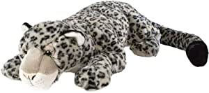 Wild Republic 80626 - Floppies peluche leopardo de las nieves (76 cm)