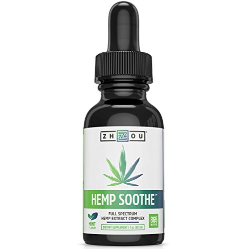 Hemp Soothe™ Full Spectrum Hemp Seed Oil - Mint Flavored Hemp Oil Drops Formulated for Optimal Calm and Comfort - Includes Omega 3 Fatty Acids to Help Support Joint, Heart and Brain Health