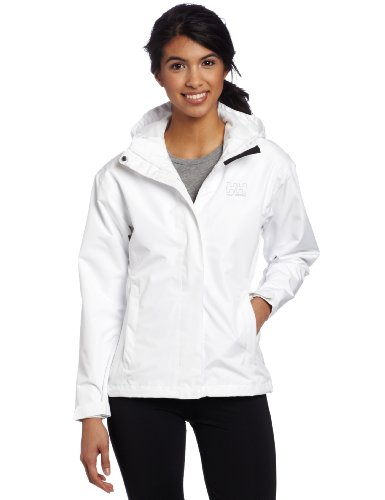 (Helly Hansen Women's Seven J Jacket, White, X-Small)