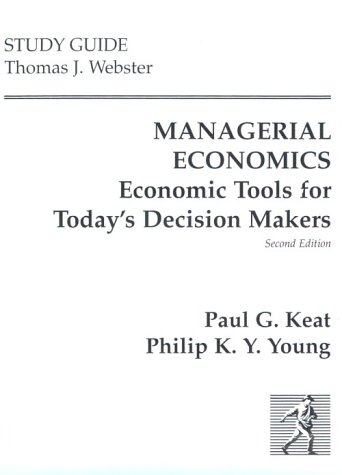 Managerial Economics (Study Guide)